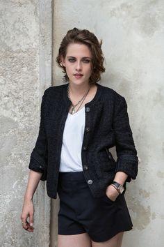 Kristen Stewart wears Chanel at Venice Film Festival