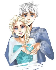 Jack and Elsa by Gadget14.deviantart.com on @deviantART