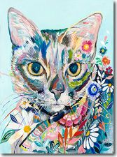Maxi Cat print found on skylinearteditions.com