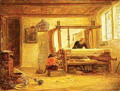 "Dekker, Cornelis, ""the Weavers in the workshop"", 1635"