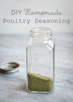 DIY Homemade Poultry Seasoning |