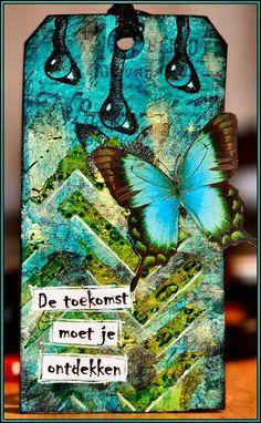 Beautiful tag from Karen http://karins-cardsandthings.blogspot.nl