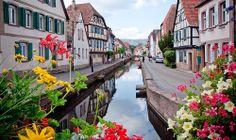 Wissembourg, France #travel #France