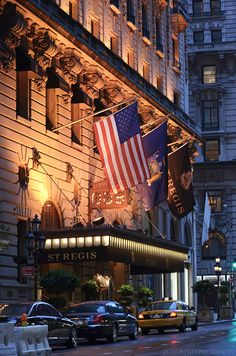 New York's St. Regis Hotel