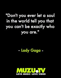 Pink Chocolate Break: Inspiring Lady Gaga Quotes