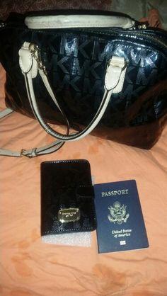 Mk kors passport  holder!!!
