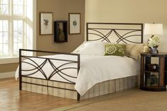 Hillsdale Dutton Headboard - King - w/Rails