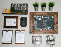 Kitchen Command Center   www.FarMorePrecious.com