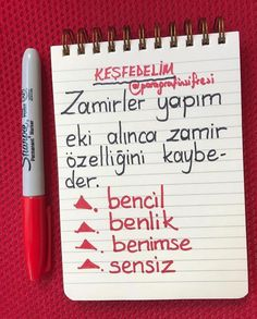 Turkish Lessons, Learn Turkish Language, Study Hard, School Notes, Study Notes, Bullet Journal, Student, Chart, Education