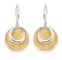 Jorge Revilla Gold Plated Siroco Earrings #jewelry #earrings