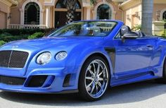 Rare Mansory Bentley Continental GTC Speed for Sale