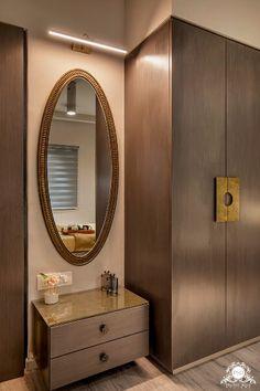 Living Room Partition Design, Room Partition Designs, Bedroom Furniture Design, Bedroom Interior Design, Bedroom Decor, Wall Wardrobe Design, Flat Interior Design, India Home Decor, Bedroom Cupboard Designs
