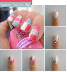 Cute pattern nails