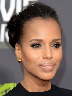 Kerry Washington #boldbrows #eyebrows