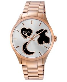 Reloj Tous Sweet Power de acero rosa  #reloj  #relojmujer
