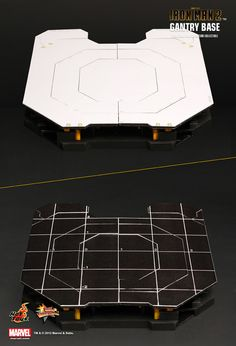 Hot Toys : Iron Man 2: 1/6th scale Suit-Up Gantry Collectible - Suit-Up Gantry 1/6th scale Limited Edition Collectible