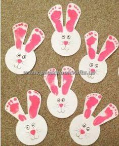 easter handprint bunny crafts easter bunny crafts pinterest