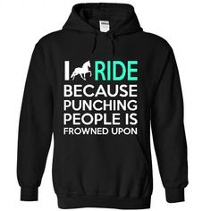 I Ride Horse T Shirts, Hoodies. Check price ==► https://www.sunfrog.com/Sports/I-Ride-Horse-5832-Black-33628797-Hoodie.html?41382