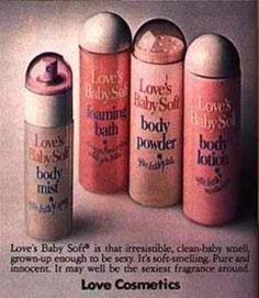 Remember Retro:Love's Baby Products!         MGFL!  www.facebook.com/thegirlfriendbook.com  www.thegirlfriendlife.com  www.thegirlfriendbook.com