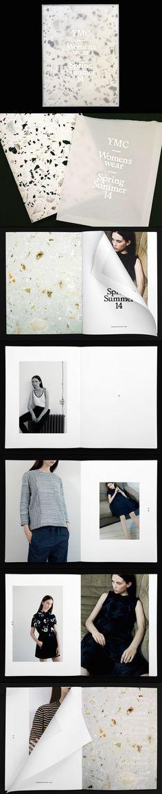 YMC Womenswear SS/14 Lookbook - design/portfolio and photography inspiration