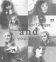I'm Hermione Granger, and you are?