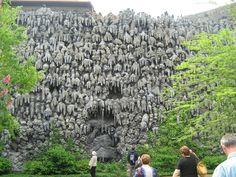 Clearly I need to travel.   Grotto in Wallenstein Gardens park, Mala Strana, Prague, Czech Republic