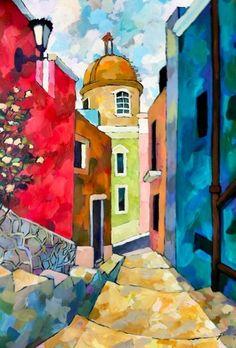 Rosemary Leach Art