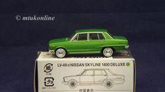 TOMICA LV49a NISSAN SKYLINE C10 1800 4DR DX 1968 | 1/64 | GREEN | TOMYTEC 2007 Nissan Skyline, Diecast, Models, Pets, Green, Ebay, Templates, Model, Girl Models