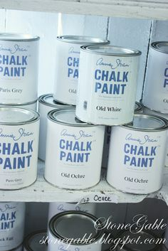 StoneGable: TIPS FROM AN ANNIE SLOAN STOCKIST ~ chalk paint tips