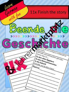 Beende die Geschichte – Deutsch