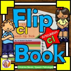 Articulation and learning 'l' blends is easy with this 'cl' flip book.  This product contains 2 x 8 pages flip books: the pages are packed with pictures and activities and can be used to make a flip book that will learning speech sounds hands on and interactive.Version 1- is a black and white flip book.