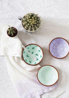 Fancy Fiesta: DIY Pattern Bowls   Sugar & Cloth