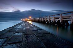 Nieuwpoort pier, Belgium