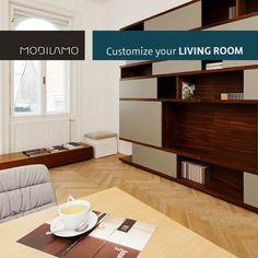 Die Wohnzimmermöbel von MOBILAMO können ganz einfach online von dir konfiguriert werden. Du bestimmst das Design, die genauen Maße, die Materialien und die Ausstattung - wir fertigen deine Wunschmöbel für dich an und liefern sie zu dir nach Hause.   Ob Sideboard, Wohnwand, Regale, TV-Möbel, Sitzbank, Esstisch oder Couchtisch - du findest bei uns alle Möbel, die du für dein Wohnzimmer brauchen kannst. So kannst du die perfekten Wohnzimmermöbel für dein Zuhause gestalten!