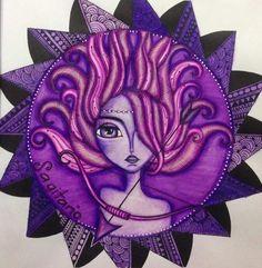 Zodiac Art, Zodiac Signs, Arabic Art, Painting Gallery, Big Eyes, Sagittarius, Cute Art, Colored Pencils, Folk Art