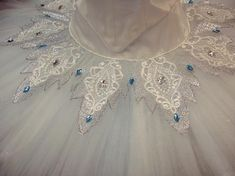 for a romantic tutu-like skirt, or a snowflake-like shorter circle or 3/4 circle skirt