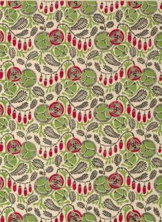 Pattern design by Henri Gillet, Nouvelles fantasies décoratives. Textile Patterns, Textile Design, Print Patterns, Floral Design, Red Pattern, Pattern Illustration, Surface Pattern Design, Painting Patterns, Paint Designs