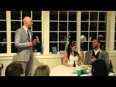 ▶ Funny Best Man's Speech with a Spice Girls Ending - YouTube