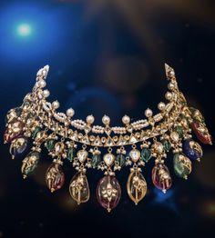 Trendy Jewelry, Simple Jewelry, Ethnic Jewelry, Indian Jewelry, Beaded Jewelry, Antique Jewelry, Gold Jewelry, Indian Jewellery Design, Jewelry Design