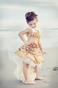 So cute for maybe a wedding flower girl dress