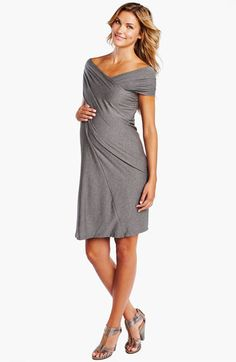 Look at this Maternal America Heather Charcoal Convertible Miracle Maternity Dress by Maternal America Cute Maternity Style, Maternity Wear, Maternity Dresses, Maternity Fashion, Estilo Baby Bump, Dresses For Sale, Dresses For Work, Baby Bump Style, Convertible Dress