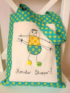 Hey, I found this really awesome Etsy listing at https://www.etsy.com/es/listing/126201708/your-childs-art-personalised-embroidered