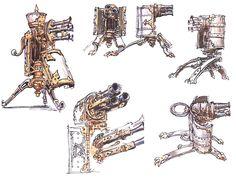 Machines Sketches, Guild Wars 2