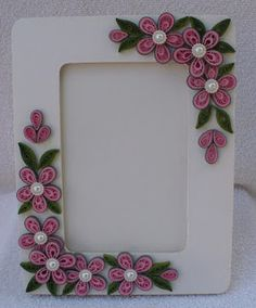 Let's create: Quilling Photo Frames and Flowers