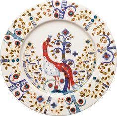 Iittala - Taika Lautanen 22 cm valkoinen - store.iittala.fi white plate finnish design fox