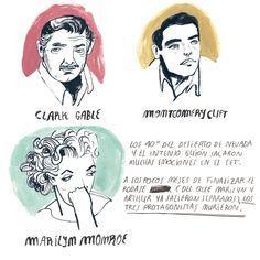 """""""Vidas rebeldes"""" (The Misfits), tragedia que profetizaba la muerte de sus tres protagonistas… Todos los misterios de este rodaje en mi libro """"MARILYN TENÍA ONCE DEDOS EN LOS PIES"""" #marilynteniaoncededosenlospies #mariaherreros #lunwerg #marilynmonroe..."""