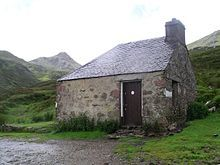 Lairig Leacach Bothy, Lochaber, Scotland. - A bothy is a basic shelter, usually left unlocked and available for anyone to use free of charge...aka a basic accommodation, usually for gardeners or other workers on an estate. Bothies are found in remote, mountain areas of Scotland, northern England, Ireland, and Wales. They are particularly common in the Scottish Highlands. A bothy was also a semi-legal drinking den in the Isle of Lewis.