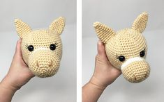 Amigurumi Horse and Donkey - A Free Crochet Pattern - Grace and Yarn Crochet Baby Toys, Crochet Amigurumi Free Patterns, Crochet Animal Patterns, Afghan Crochet Patterns, Stuffed Animal Patterns, Crochet Animals, Crochet Dolls, Free Crochet, Poney Crochet