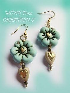 beautiful Fimo earrings