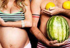 33 dicas para fazer um ensaio fotográfico divertido durante a gravidez. Inspire-se! #criatividade